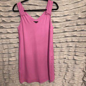 Adrienne Vittadini pink tank dress